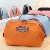 New 2014 Fashion Beautician 4 Colors Cosmetic Pouch makeup bag Women's organizer bag  Travel storage bag  Wash bag Free Shipping