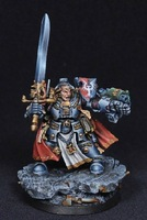Free Shipping  models Grey Knights Brother Captain Stern(Metal Models)
