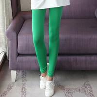 2014 New Fashion High Elastic Milk Silk Candy Color Women's Leggings  9042