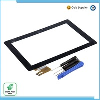 Original New 10.1 inch 1280*800 for Asus transformer pad TF300 TF300t TF300tg tf300tl G03 Quad Core touch screen digitizer/black