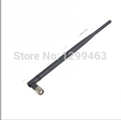 2.4G 7DB omnidirectional antenna / wifi antenna 2.4GHZ gain antenna RP-TNC interface card dedicated(China (Mainland))