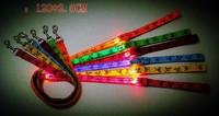 For VIP Customer Circular Pendant Collar Puppy Led Night Light Pet Dog Collar And LED Pet Dog Cat Leash Lighted Flashing Product
