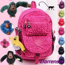 2014 New shoulder Bag Computer Bag Backpack Schoolbag Kippling Monkey Bag Kippl Men And Women Travel Bags Free Shipping(China (Mainland))