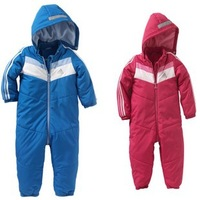 Baby Girls Boys Coveralls Winter Sport Rompers, Kids Overalls Snowsuits, Newborn Outerwear Clothes