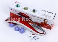 Manufacturers wholesale dolphins massager infrared red light massage massage hammer large-sized massager