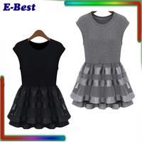 casual women summer dress femininas vestidos ball gown mini sleevelessRuffle sexy women clothing set bodycon plus size XXL