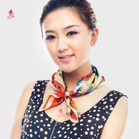 Fashion silk small 2013 facecloth elegant female small silk scarf 100 mulberry silk skin