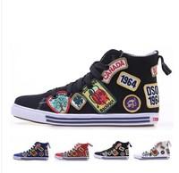 D2 Dsq Shoes Women/Men/Lovers Sneakers Shoes Summer Fashion Famous Brand New 2013 Casual Flats Shoes Man Sports Canvas Shoes