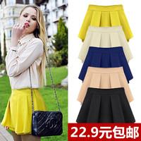 2014 summer plus size chiffon skirt pants casual shorts female skorts plus size summer trousers mini shirts