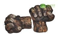 FREE SHIPPING Nylon material children oversized Hulk stone fist Toys