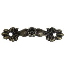 Free Shipping 30PCs Box Handle Knobs Arch Tracery Bronze Tone 4.3cm x1cm Furniture Hardware(China (Mainland))