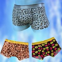 Seamless Ice silk boxer underwear Fashion Men's Sexy underpant ice silk men's underwear