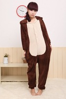 Winter Cheap Animal Kigurumis chipmunk Onesie Pajamas chipmunk Mascot Costume chipmunk Hoodies chipmunk Pajamas