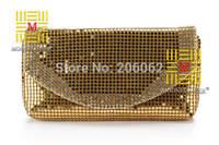 sequin envelope handbags for women bags  black gold silver colors 1 pc/lot dotacion bolso de la mujer