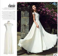 New! hot! 2014 Spring and Summer S-XXL women dress, high quality Bohemia lady temperament beach chiffon dress Free shipping