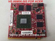 Original laptop placa de vídeo VGA gráfico para ACER 5920G 5720G HD3650 216-0683013 ATI Radeon de 512MB DDR2 MXM II VG.86M06.005(China (Mainland))