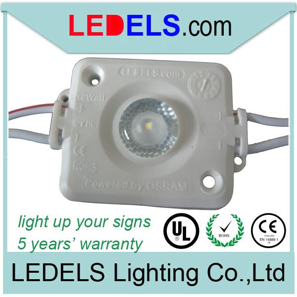 1.6w Osram /Nichia led modules signage high power(China (Mainland))