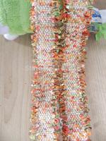 New Style multicolor orange group velvet ribbon for garment home decoration