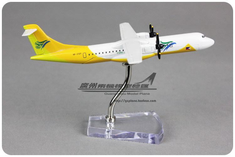 16cm Airplane Model Philippines Cebu Pacific CEBU ATR 72 Airways Aircraft Alloy Metal Plane Model Diecast Souvenir Toy Gift(China (Mainland))