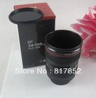 Free Shipping!Coffee Cup Best Gift For Canon Fans 1:1 EF 24-105mm Thermos Camera Lens Mug fof Coffee Milk Tea Water