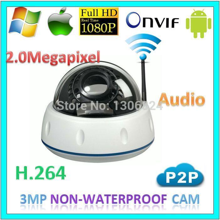 1080p wifi p2p Security Indoor Camera CCTV Audio Wireless Surveillance 2.0MegaPixel Network IP Infrared Night Vision Webcam(China (Mainland))