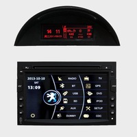 Peugeot 3008 Car DVD with Touch Screen GPS Bluetooth 8CDC ipod iphone Dual Zone Steering Wheel Control