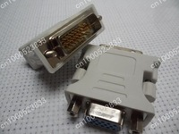 DVI-I male Analog (24+5) to VGA Female (15-pin) Connector Adapter   Buy 2 Get 1 Free