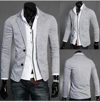 Suits Mens Casual Two button suits TOP Design Sexy Slim FIT Jacket Coats Suits M-XXL 3colors  CMR0016