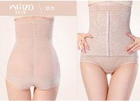 women body shaper cheap slim  underwear Women High Waist Tummy Control Body Shaper Briefs Slimming Pants high waist  plus size