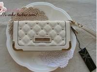 KK nkardashian kollection new arrival ling rivets women's wallet KK bag Day Clutches20pcs/lot