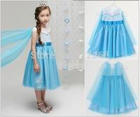 "girl dress dresses Ice and snow ""girls dreamy summer blue Elegant Beautiful .14JUN182"