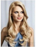 celebrity hairstyle synthetic long wavy Full lace wig