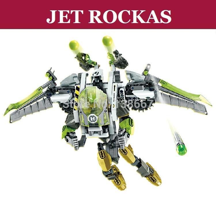 Jet Model Factory 1pc Hero Factory Jet Rockas