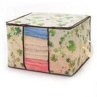 2014 New Brand Storage Organization/Designer Flower Printed Quilt Storage Bags/High Quality Storage bags