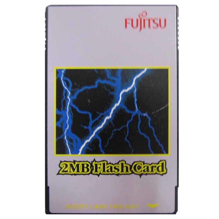 FUJITSU 2MB Flash Card PC Card PCMCIA Flash Memory Card 68Pins(China (Mainland))