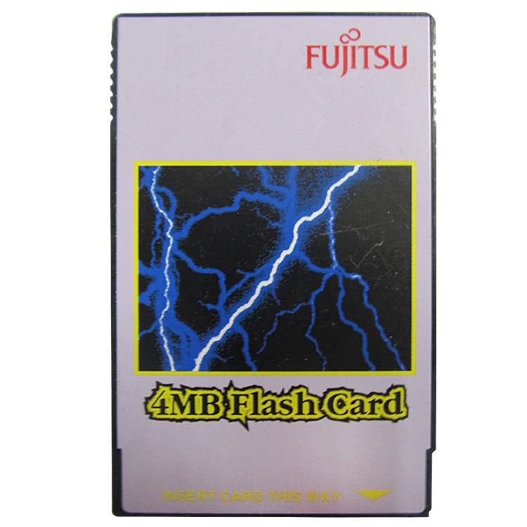 FUJITSU 4MB Flash Card PC Card PCMCIA Flash Memory Card 68Pins(China (Mainland))