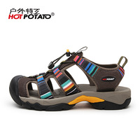 Super deal high quality Outdoor man sandals sports hiking shoes male water walking shoes breathable outdoor sport shoes