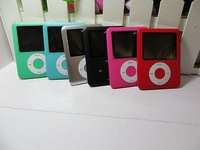 2014 NEW Christmas gift 1.8 inch Screen MP3 MP4 Players 16GB 3th Gen Ebook Reader FM Radio 1pcs Free shipping
