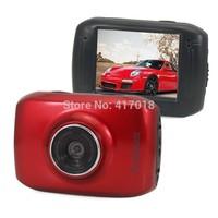 Hot Sale 1PC Full HD Sports DVR  Car DVR Helmet Waterproof Action Camera Outdoor Camcorder DV Digital Video Camera Free Shipping