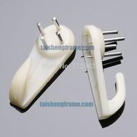 plastics Toly Hard Wall Hook Big 100 Tub,50*21mm  ,Wall Hanger ,not broken wall,Framing Materials  & Equipment