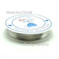 Free Shipping Wholesale Cheap 0.4mm Copper Wire For Jewelry Making 10 Rolls/ lot JTW-C001B