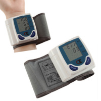 2014 New Digital LCD Wrist Cuff Blood Pressure Monitor Heart Beat Meter health care monitors