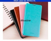 Free Shiping MOFI Mobile Phone Cover Cases for NOKIA XL Flip Leather Case With Stand