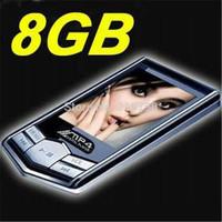 8GB Digital MP4 player Black diamond MP4 player 1.8inch FM ebook recorder video photo nice MP4 20pcs Free shipping DHL hot sale