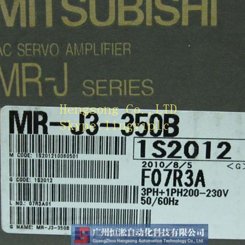 Mitsubishi Servo driver MR-J3-350B (new in box) with one year warranty(China (Mainland))