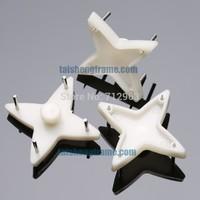 Shuriken plastics Hard Wall Hook  200pcs 29*29mm ,Wall Hanger ,not broken wall, picture hanger ,Framing Materials  & Equipment