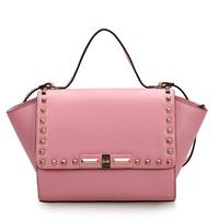 2014 women's bag hot-selling rivet bag dumplings bag genuine leather women's handbag ol all-match Large 0435 leather bag