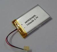 3.7v polymer lithium battery 053048 mp4 toys small speaker toy 800mah