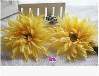 Super simulation flower flower of African chrysanthemum flower heads, adorn article edge clip photograph show props 10pc