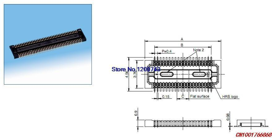 Original board to board 0.4MM DF30FC-30DS-0.4V DF30FC-30DP-0.4V connector(China (Mainland))